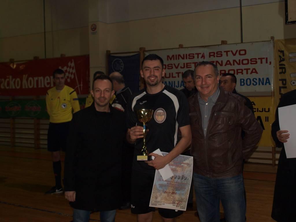 Najbolji igrač turnira Marko Lucić