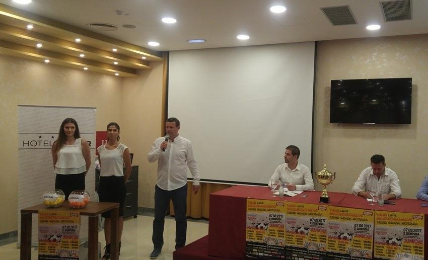 Izvlačenje parova za Veliki ljetni malonogometni turnir Grada Mostara