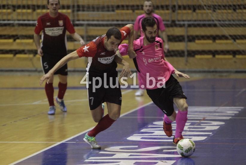 MNK Centar - FC Mostar SG 'Staklorad' (arhiva)