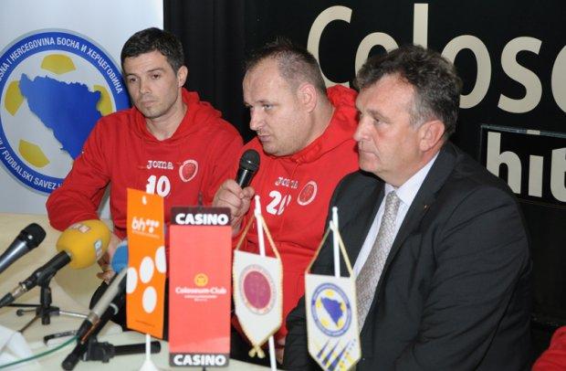 Nijaz Mulahmetović (lijevo) i Dženan Muminović (u sredini)