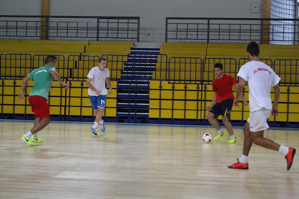 Pripreme FC Mostar SG 'Staklorad'